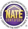 NATE Certified HVAC Technician
